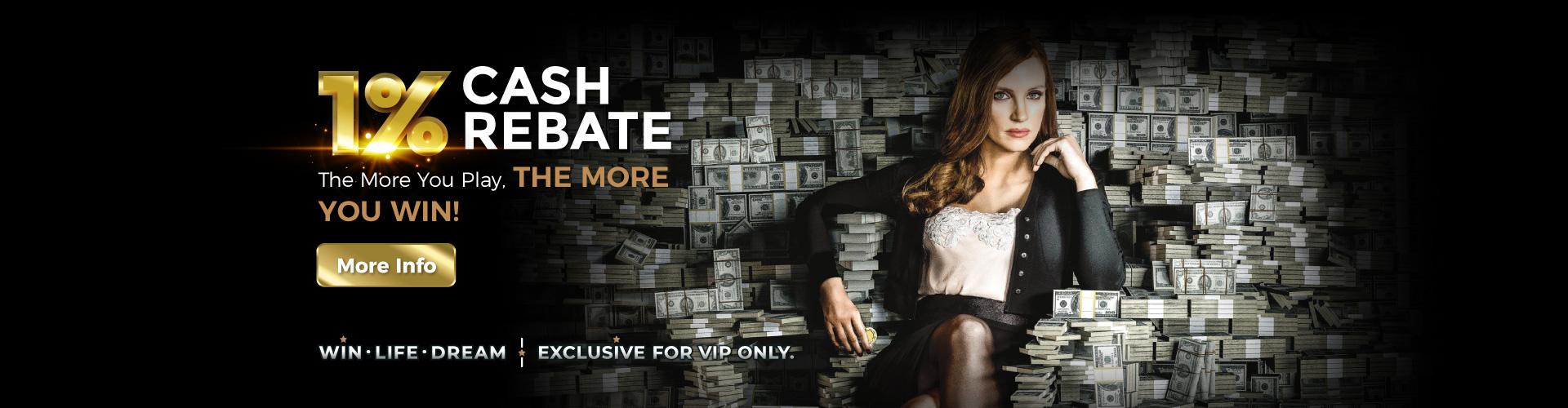 Cash Rebate rewards